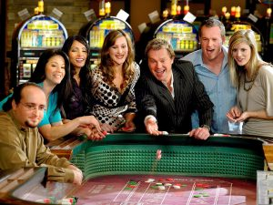 Foreigner at a Casino